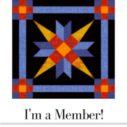 I'm a member of the Prairie Star Quilters Guild